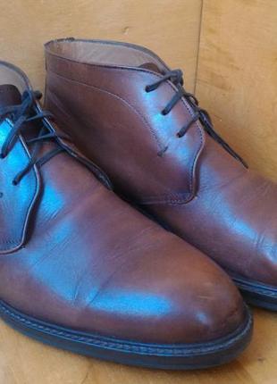 Ботинки чука massimo dutti р-р. 44-й (28.8 см)