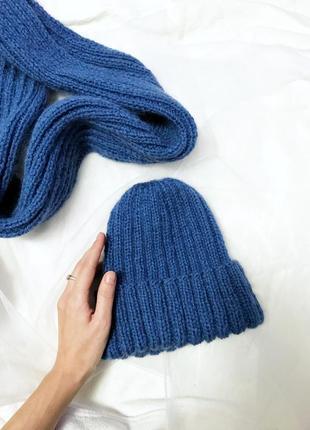 Супер тёплые шапочки и шарфы