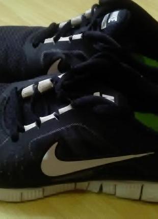 Беговые кроссовки nike free run+3  39р