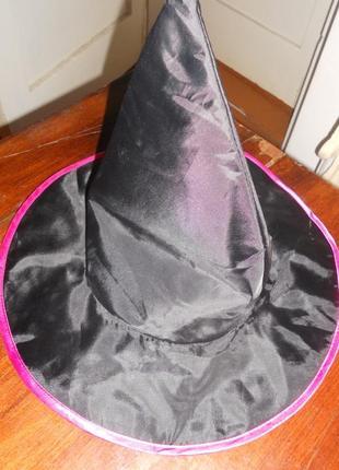Шляпа карнавальная хэллоуин hellowin ведьма george 3-4 г