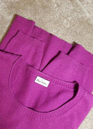 Джемпер - свитер  р. л-хл от blue motion шелк 55% кашемир 45%2 фото