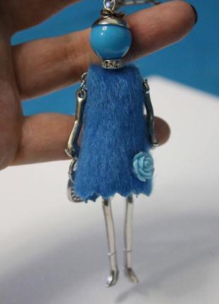 Есть варианты! крутой брелок на сумку куколка брелочек кукла девочка
