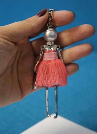 Есть варианты! крутой брелок на сумку кукла куколка девочка брелочек брелоки