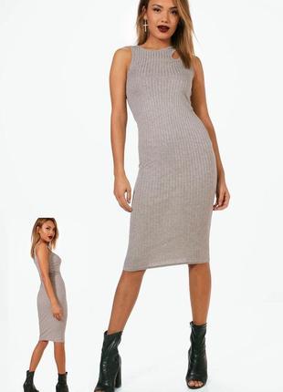 Платье миди boohoo m/l, s/m