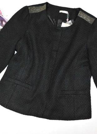 Шикарный теплый пиджак или легкая курточка bona parte размер 48 евро, на 54 наш