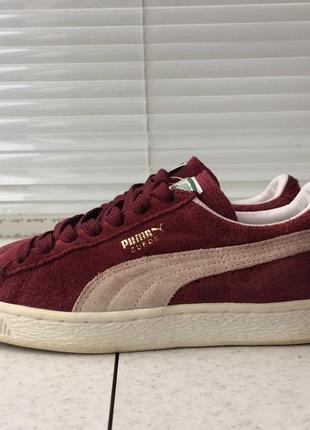 Puma suede кроссовки