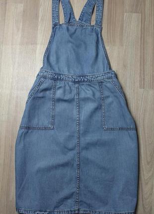 Комбинезон джинсовый сарафан new look , l-xl