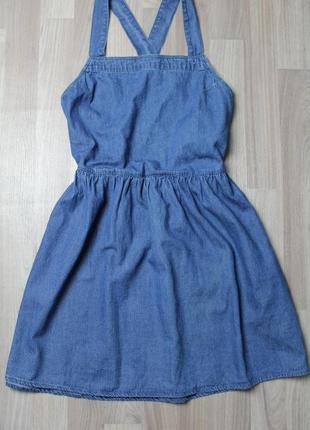 Комбинезон джинсовый сарафан vero moda, размер м