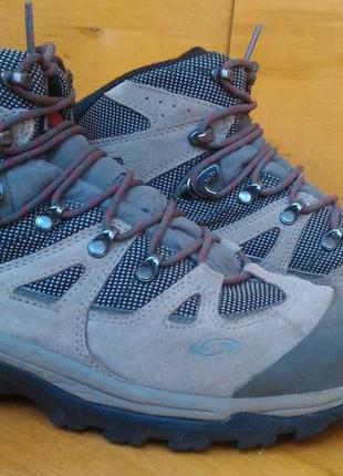 Ботинки треккинговые salomon discovery+gore-tex р-р. 39-й (25-25.5 см)
