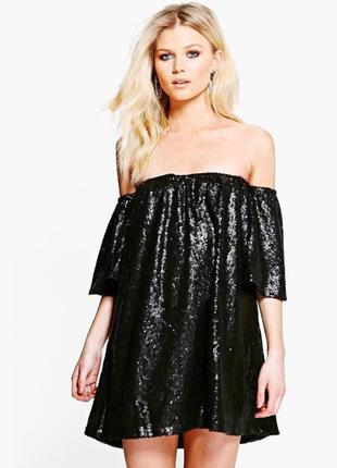 Платье сукня в пайетках