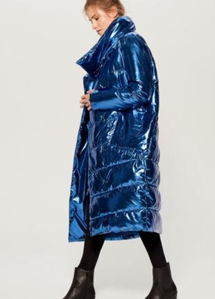 Пальто стёганое дутое mohito размер 36 38 40 42 44