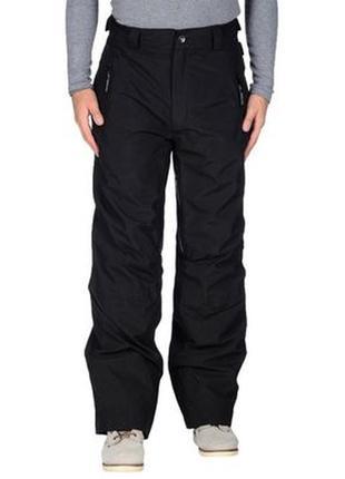 Лыжные брюки, спортивные утепленные helly hansen р.50-52 (xl)на флисе, черные норвегия