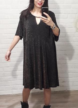 Супер красивое стилтное платье uk 24