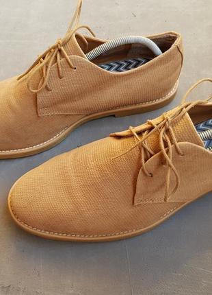 Мужские коричневые туфли topman