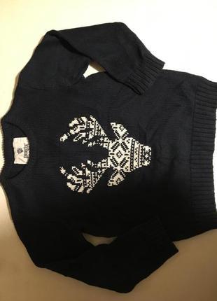 Фирменный натуральный свитер