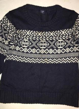 Фирменный натуральный свитер gap