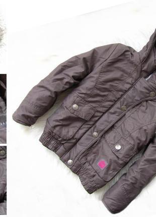 Стильная теплая куртка с капюшоном x-mail