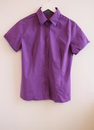 Базовая рубашка с коротким рукавом montego
