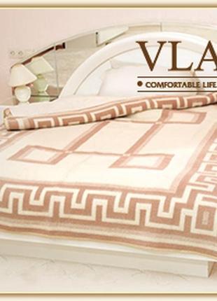 Vladi жаккардовое шерстяное одеяло