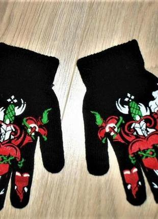 Перчатки на 10-12лет