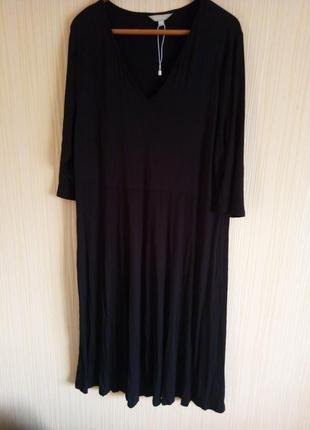 Длинное платье 56 размера