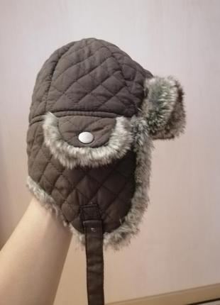 Зимняя шапка h&m