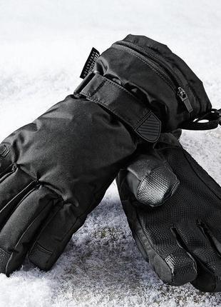 Лыжные перчатки tcm tchibo р. 6,5