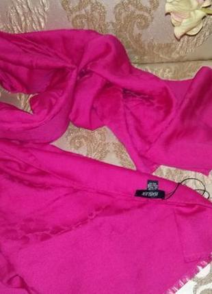 Basler большой шарф/палантин шелк/шерсть, италия