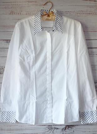 Блуза коттоновая t.m.lewin англия