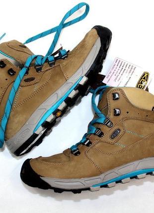 Зимние ботинки keen кожа 37,5 р оригинал
