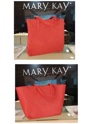 Стильная красная сумка мк