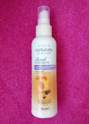 Бальзам-спрей для волос абсолютная сила. абрикос и масло ши avon naturals