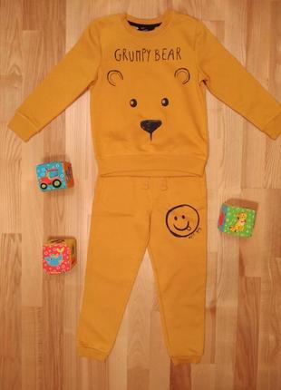 Детский спортивный костюм george, на 5-6 лет