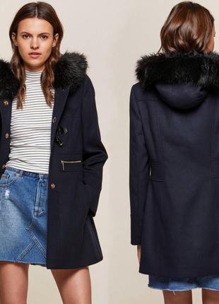 Тёплое пальто дафлкот