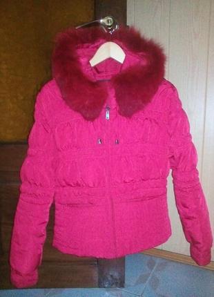 Куртка — пуховик короткая