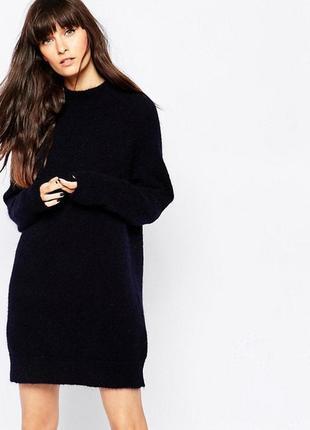Платье-свитер,свитерок,вязанное,сукня