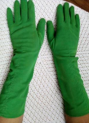 Удлиненные перчатки