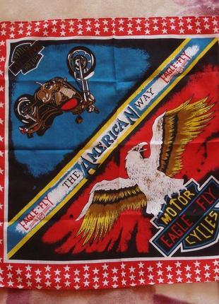 Хлопковая бандана eagle fly