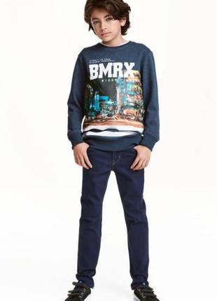 Твиловые брюки skinny fit h&m 170 (14y)