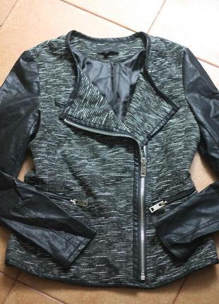 Женская куртка косуха,кожанка