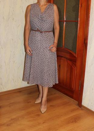 Платье в горох f&f