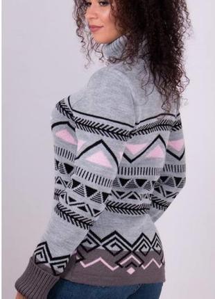 Красивый, вязаный свитер (44-50 р.)есть другие цвета3