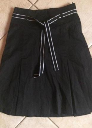 Стильная юбка на подкладке h&m!xs - s