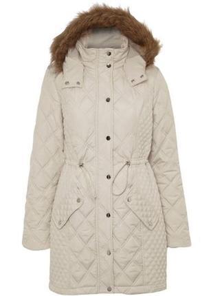 Женская куртка-пуффер с капюшоном, george, р. 20 пог -60