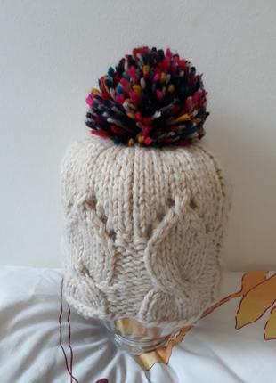Centro шапка женская вязанная