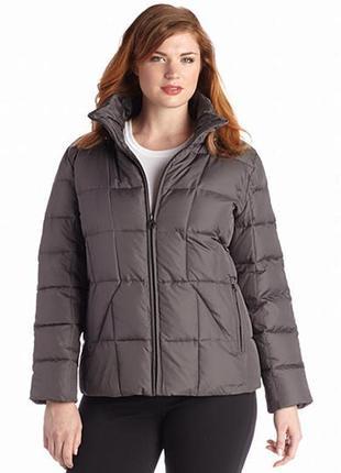 Пуховик, сalvin klein plus size down coat,р. ох. пог 58, длина 69