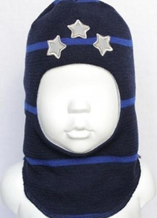 Выбор мам - зимняя шапка шлем beezy, ог - 50-53, от 0 до -25, шерсть, хлопок, холлофайбер