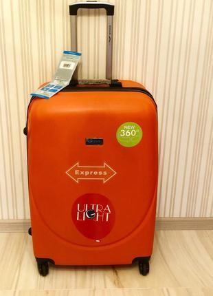 Снова в наличии средний чемодан gravitt за 850 грн валіза сумка на колесах