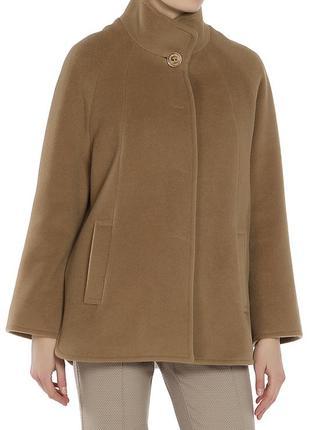 Шикарное итальянское пальто от бренда ginzia rocca. цвет кемел (camel)
