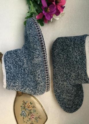 Тапочки сапожки 39-40 размер на меху